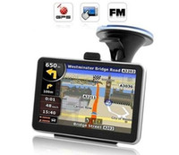 Wholesale 5 inch car GPS navigation with MP3 MP4 FM M GB memory with maps car gps navigator HD touch screen