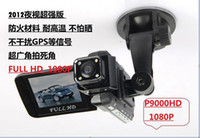 Wholesale 2 quot inch Screen Car dvr Video camera P9000 Full HD P night vision wide angle lens vehicle bl