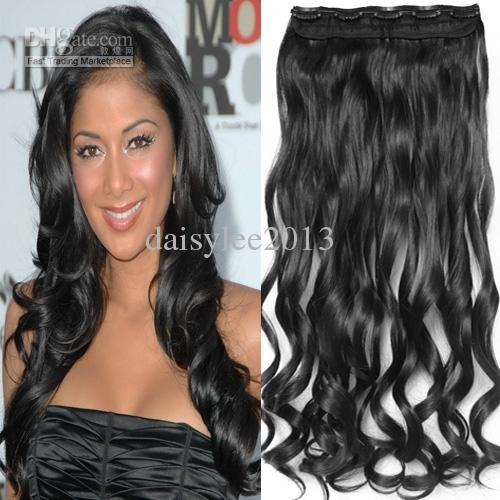 20 one piece clip in black hair extensions high temperature 20 one piece clip in black hair extensions high temperature synthetic hair clip in on hairpieces black hair clip in hair extensions black clip in hair pmusecretfo Gallery