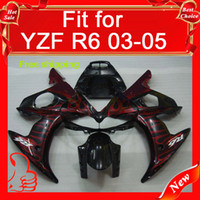 Wholesale Bodykits for Yamaha YZF R6 Body cover for YZF600 R6 ABS plastic Deep silver