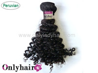 Wholesale Peruvian Afro Kinky Curly Virgin Hair For Extensions Human Clips African American Curly Hair Weaves Inch