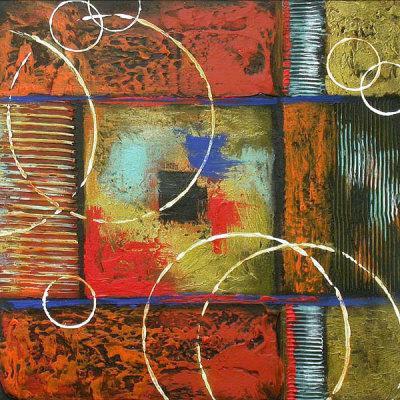 2017 modern art creative ring art abstract oil painting for Creative abstract painting