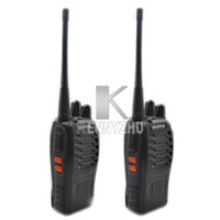Wholesale BF S MHz W CH Portable Two way Radio Walkie Talkie Interphone with MAH Battery S
