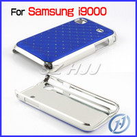 Wholesale Bling Case for Samsung Galaxy S i9000 Crystal Shiny Chrome Bumper Cell Phone Cover