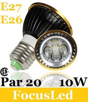 Wholesale CSA amp UL Par20 W Led Spot Bulb Lamp E27 Warm Cool White Led Downlights V Energy Saving Lamp