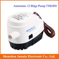 Wholesale 12V Seaflo Automatic Bilge Pump GPH with Retail Box and Manuel GA2820