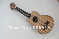Cheap NEW Homeland brand laminated Zebra wood concert best sound Ukulele