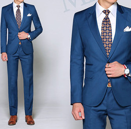 Wholesale custom made fashion suit pant men s suits wedding bridegroom suits groom suits