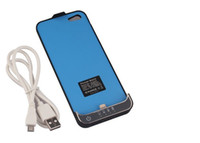 Wholesale Portable Backup Battery External Power Charger Case mah Mobile Phone Extra Power For iphone Fr