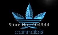Wholesale LB765 TM Cannabis Marijuana Weed High Life NEW Light Sign Advertising led panel