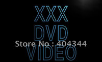 adult dvd - LB824 TM XXX DVD Video Adult Film Display Neon Light Sign Advertising led panel