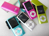 Wholesale Support GB TF card max Slim quot th LCD MP3 MP4 Player FM Radio Video COLORS