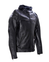 Wholesale speical Men s genuine real Leather Jacket motorcycle jacket S XXXL