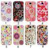 3D Rain Water Drop Flowers Design Hard Case Cover for samsung galaxy s4 i9500
