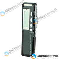 Wholesale Portable GB GB USB Digital Voice Telephone Recorder Dictaphone MP3 Player LCD Display Black