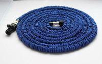 Wholesale 25FT Pocket Hose Expandable amp Flexible WATER GARDEN pipe flexible water hose PC
