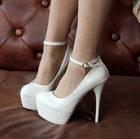 Wholesale 2013 Europe and the United States sexy high with wedding shoes buckle Item