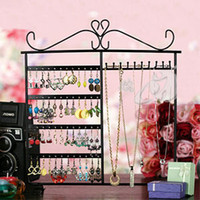 Wholesale 48 Earring Necklace showcase Stand holder Jewellery Display
