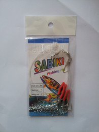 lure trolling fishing silver tinsel flasher hair line rigs lures