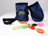 Wholesale Pet Dog Training Treat Pouch Bag and Dog Training Clicker more Colors bags and clickers p