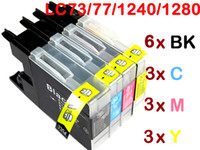 Brother lc - 15 ink cartridge for Brother LC LC77 LC71 LC1240 LC1280 MFC J280W MFC J430W MFC J825DW MFC J835DW