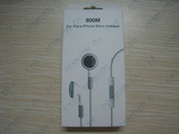 Wholesale Retail package for iphone s g gs iphone s earphone ipad headphone