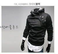 Men Cotton Bussiness / Work Casual Style New High Quality New Men's Hoodies Sweatshirts Rabbit Hair Collar Oblique Zipper Men's Jacket Coat