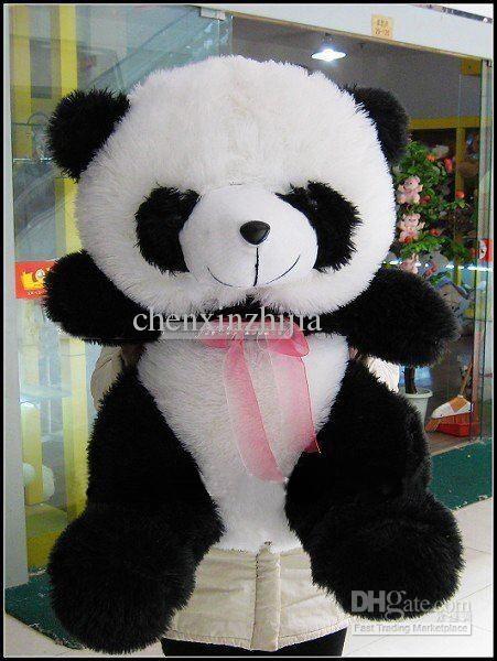 2017 wholesale cheap halloween toys large fat panda plush stuffed toy giant 40 from. Black Bedroom Furniture Sets. Home Design Ideas