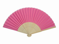 Wholesale Women Plain Color Hand Fans DIY Program Fans Silk Folding Chinese Decorative Fans Free
