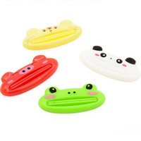 Wholesale Top funny novel good helper cartoon animals toothpaste SQUEEZER toothpaste sqeezing device LOVELY
