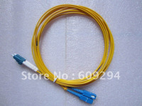 Wholesale Hot Wholesales LC to SC Fiber jumper Duplex and indoor fiber cable SM PVC M fiber patch cord