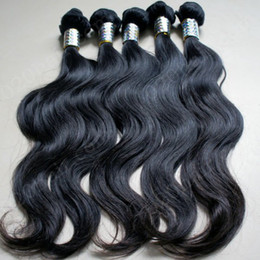 Wholesale 5A unprocessed virgin brazilian hair dyeable and bleachable natural color