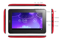 Wholesale inch GSM Phone Call Tablet PC Allwinner A13 SIM Card Capacitive Multi Touch bluetooth