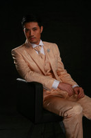 Wholesale the hot sale style of custom made groom wear for wedding suits three pieces suits NO