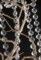 Wholesale Iridescent Crystal Acrylic Gems Bead Strands Wedding Centerpieces Manzanita Crystlals Tree Garlands