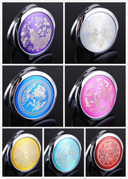 Wholesale 10X CD Veins Cosmetic Compact Mirror Magnifying Make Up Mirror DROP SHIPPING
