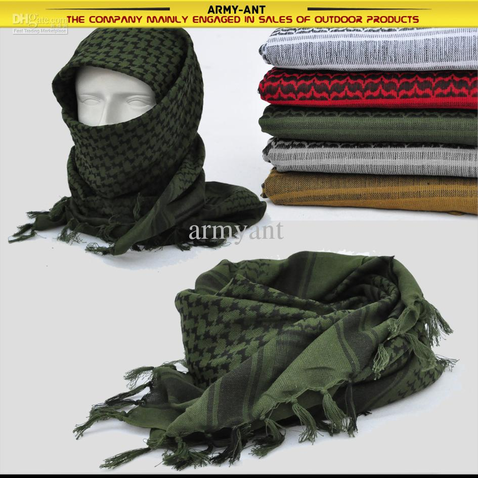 how to wear a tactical scarf
