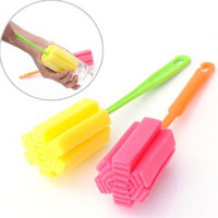 Wholesale Colorful funny interesting novel SPONGE CUP BRUSH Brushes High quality good kitchen helper brush