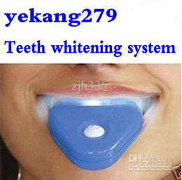 Wholesale Whitelight White Teeth System Teeth Whitening Device Tooth Whitener Kit Dental Care Retail