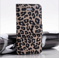 apple leopard support - Apple iphone5 phone protective sleeve leopard or so open holster support mixed batch K1525