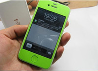 Wholesale 20pcs For iPhone S Colorful Anti Scratch Skin Sticker Retail Package