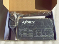 Wholesale azsky G2 dvb s gprs combo Users just need dish antenna GPRS SIM card satellite Receiver free