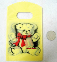 Wholesale hot fashion small bear cm quot x5 quot Jewelry bag Plastic Gift handbag bravelet Pouch