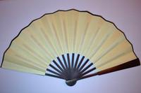 Wholesale Chinese DIY Hand Fans Silk Blank Fans Folding Decorative Fan Fine Art Painting Fan Free