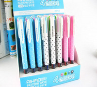 ball-point pen aihao pen - China Stationery AIHAO four color ball point pen mm red Green Blue Black g