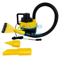 Wholesale New Portable Car Dust Cleaner Vacuum Cleaner Collector Inflator Air Compressor Wet amp Dry