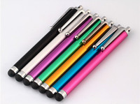 Wholesale High quality Stylus Pen for iphone S phone GS pad Samsung P1000 Note2 Note3 Capacitive