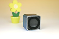 Wholesale Portable Mini Stereo Speaker A08 with micro sd TF card U disk slot LED Screen FM DHL