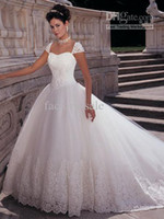 Wholesale 2011 bridal wedding dress ball gown sweetheart floor length Embroidery lace Organza wedding dresses