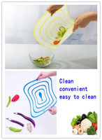 Wholesale 100 EMS Cut fruit plate Ultra thin Chopping board Health chopping board size Xmas gift